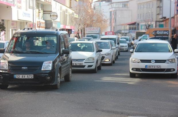 Bingöl'de Trafiğe Kayıtlı Araç Sayısı Artıyor