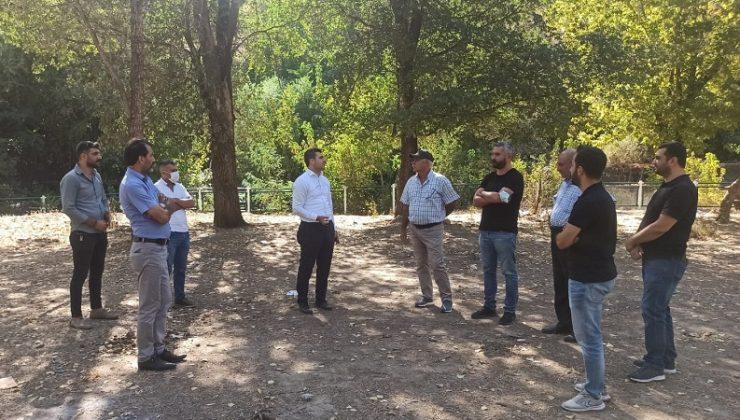 DSİ Parkında Çalışmalara Start Verildi