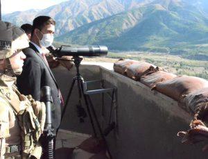 Kaymakam Kaya, Jandarma Karakollarını Ziyaret Etti
