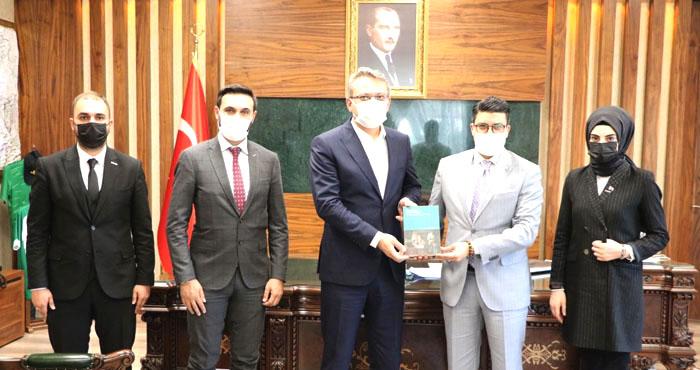 TUSİM Başkanı Alpay'dan Bingöl Ziyareti