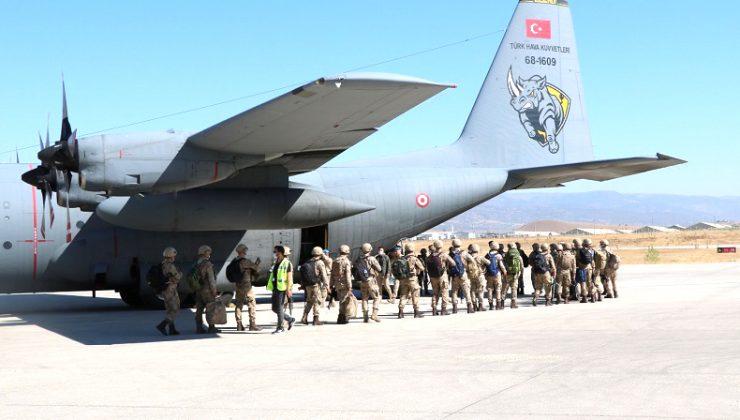Komandolar Suriye'ye Uğurlandı