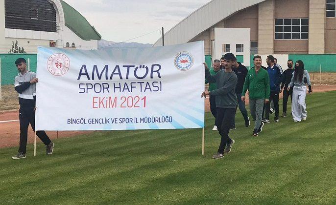 Amatör Spor Haftası Açılışı Yapıldı