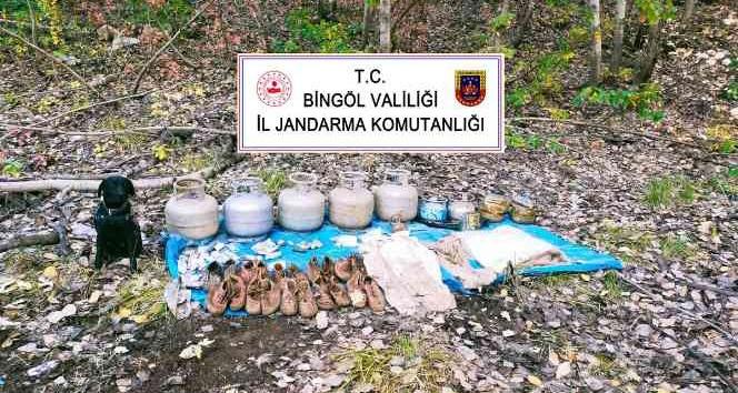 PKK Sığınakları İmha Edildi